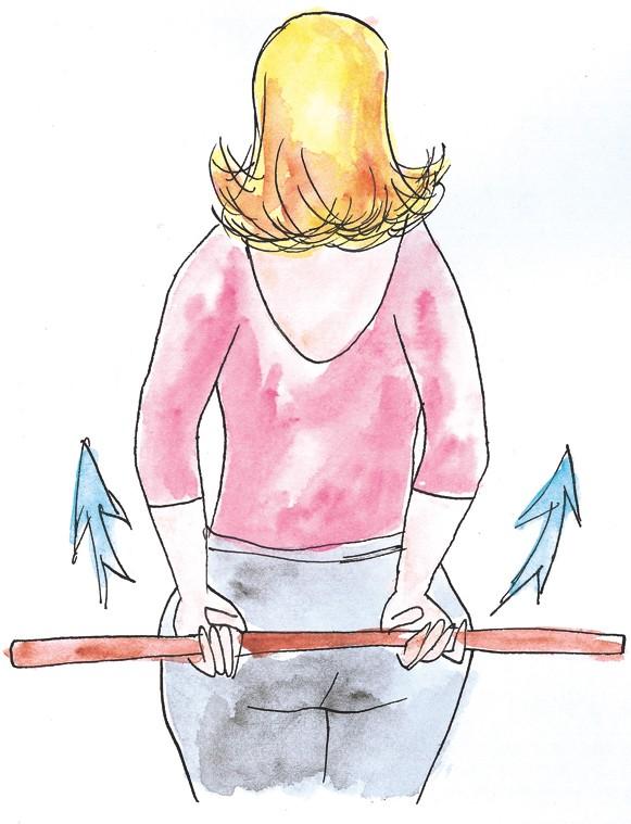 savoir maigrir les exercices pratiquer pour redresser son dos un peu d 39 exercice. Black Bedroom Furniture Sets. Home Design Ideas